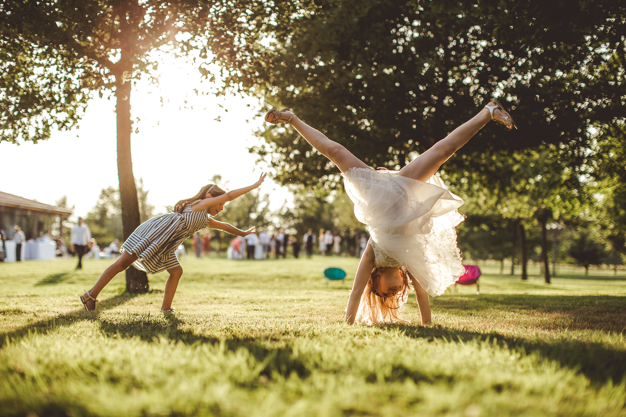 reportage mariage photo invites enfants cocktail vin honneurdomaine preissac toulouse