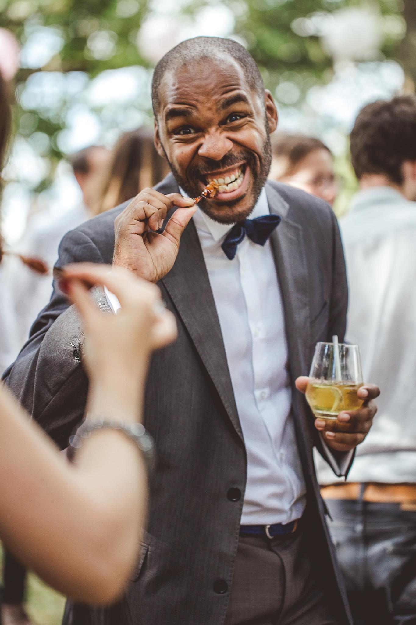 reportage mariage photo invites enfant amis bande cocktail vin honneur traiteur cognac