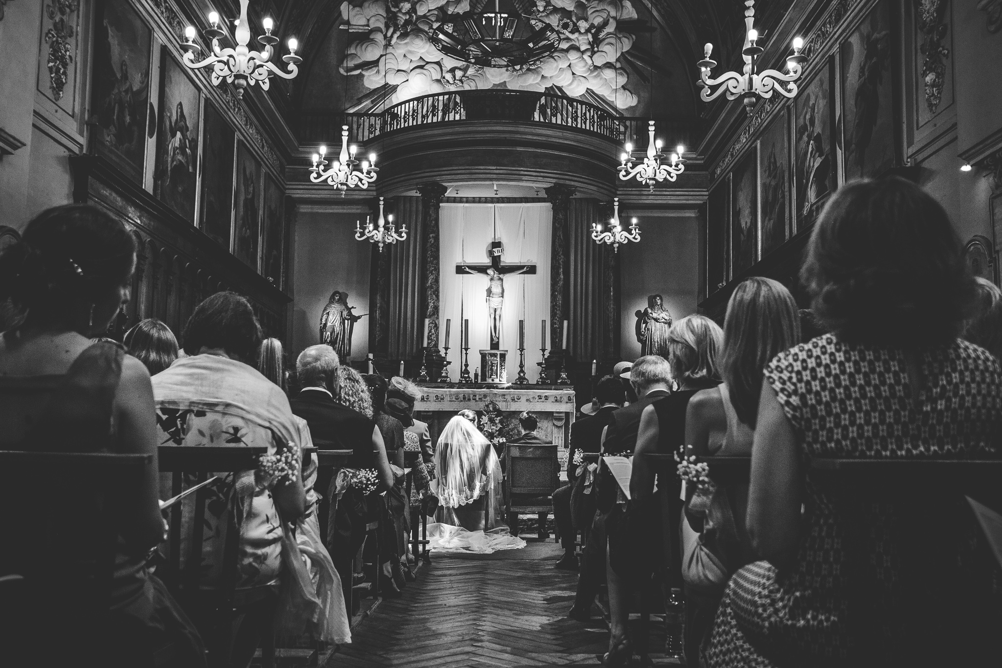 reportage mariage photo ceremonie religieuse eglise catholique saint exupere toulouse