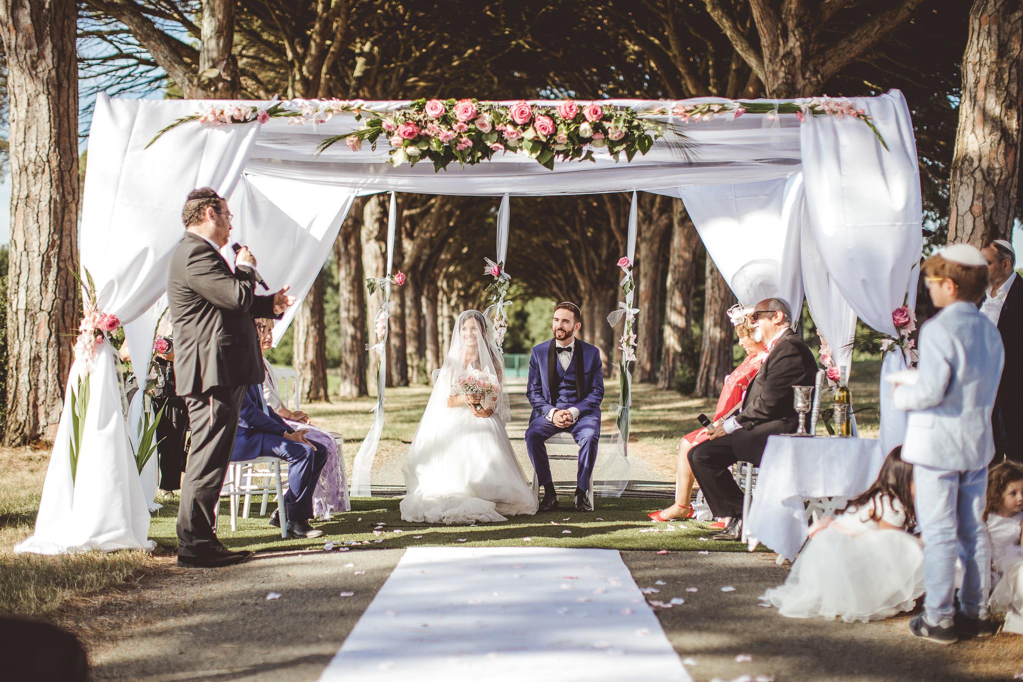 reportage mariage photo ceremonie religieuse juive exterieur domaine preissac toulouse mazeltov